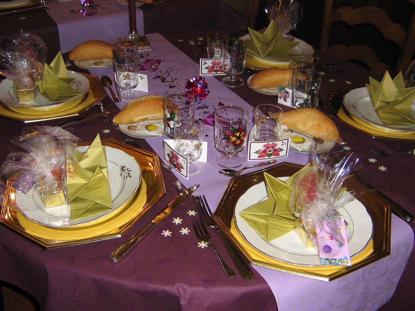 Decoration de table pour f te - Decoration table de fete ...